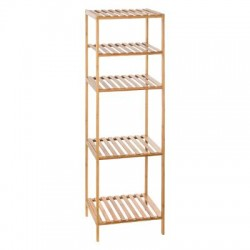 ETAGERE 2+2 CASES MIX BAMBOU