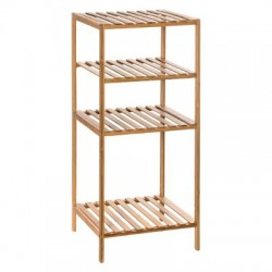 ETAGERE 1+2 CASES MIX BAMBOU