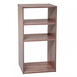 ETAGERE 2+1CASES MIX NAT