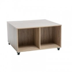 TABLE BASSE 4 CASES MIX...