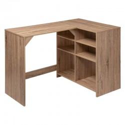 bureau angle avec rangement