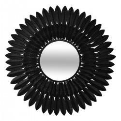 Miroir MELY noir 63cm