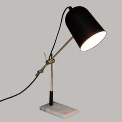 lampe socle en marbre