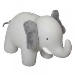 tirelire éléphant façon peluche