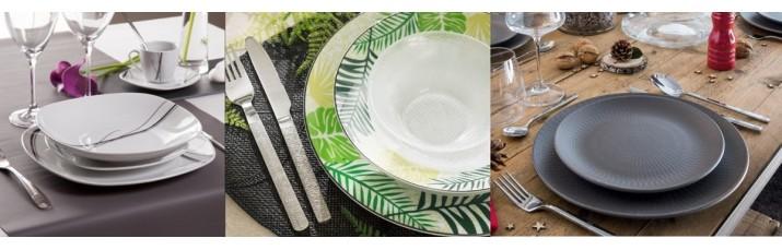 Vente Vaisselle et Couverts de Table pas cher – Assiette, Ménagère, couteau, Fourchette, Cuillère