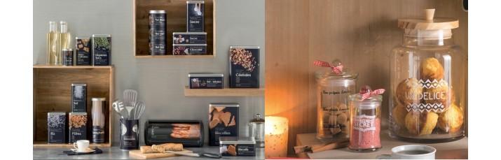 Vente Boîte de Conservation, Rangement cuisine pas cher – Boite métal, bocal verre, range couverts