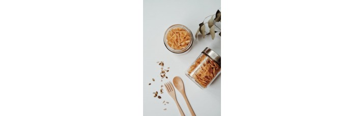 Pour organiser et ranger vos aliments de façon méthodique et décorative à petits prix.
