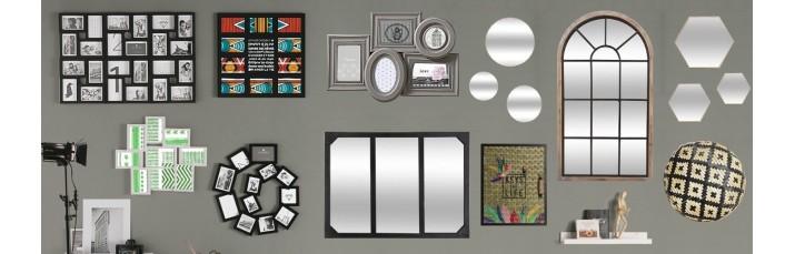 Vente Déco Murale pas cher – Cadre photo, Pêle-mêle, Miroir, Toile murale, Patère, Plaque de porte
