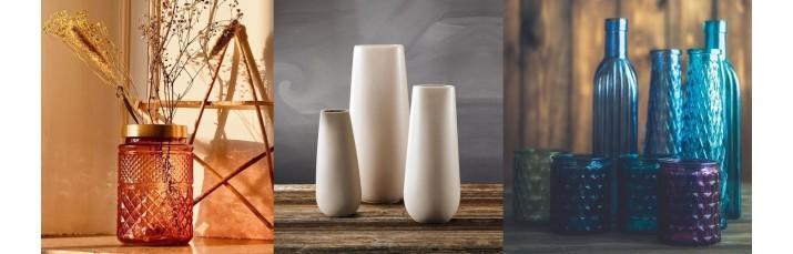 Vases, Jarre, pot en verre